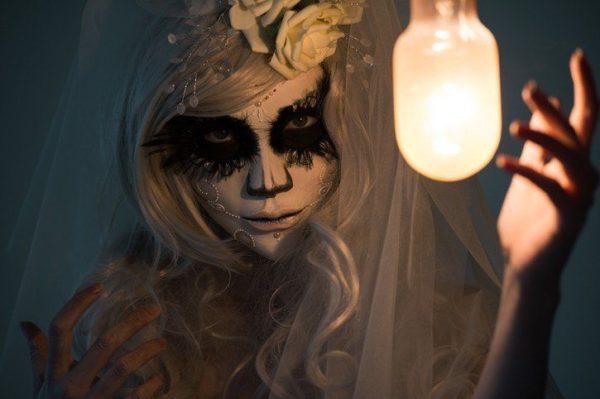 Pintura para halloween cara cuerpo colores y fotos personaje de halloween favorito