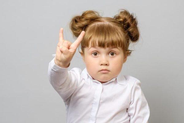 Foto peinados niña moñoslaterales