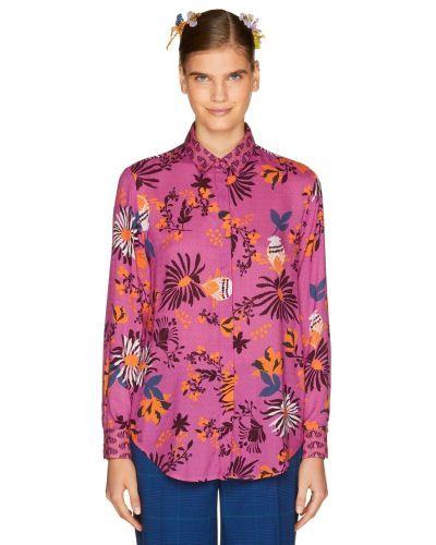catalogo-united-colors-of-benetton-para-mujer-camisa-estampada
