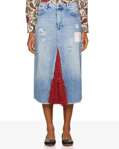 catalogo-united-colors-of-benetton-para-mujer-faldas-insercion-de-terciopelo