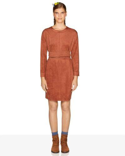 catalogo-united-colors-of-benetton-para-mujer-vestido-de-ante