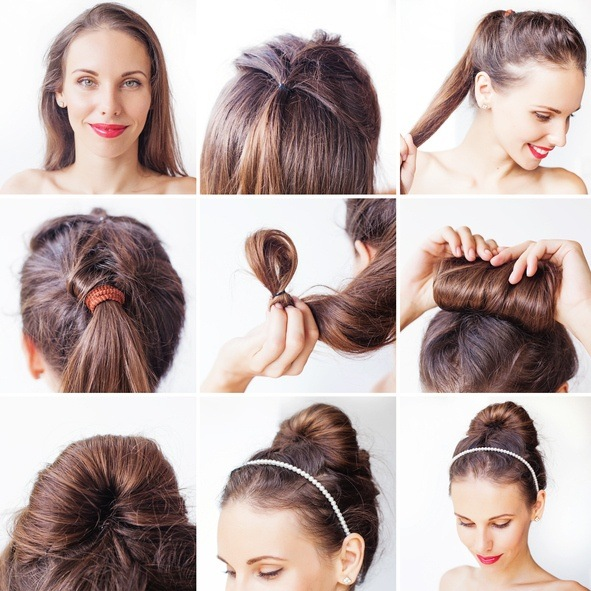 Peinados faciles para pelo largo mono