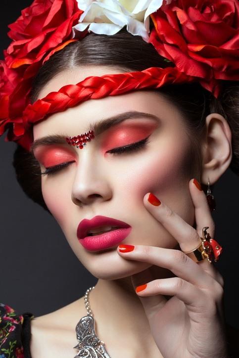 Como hacer un disfraz de frida kahlo maquillaje