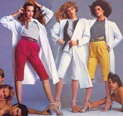Toda la moda de los años 80