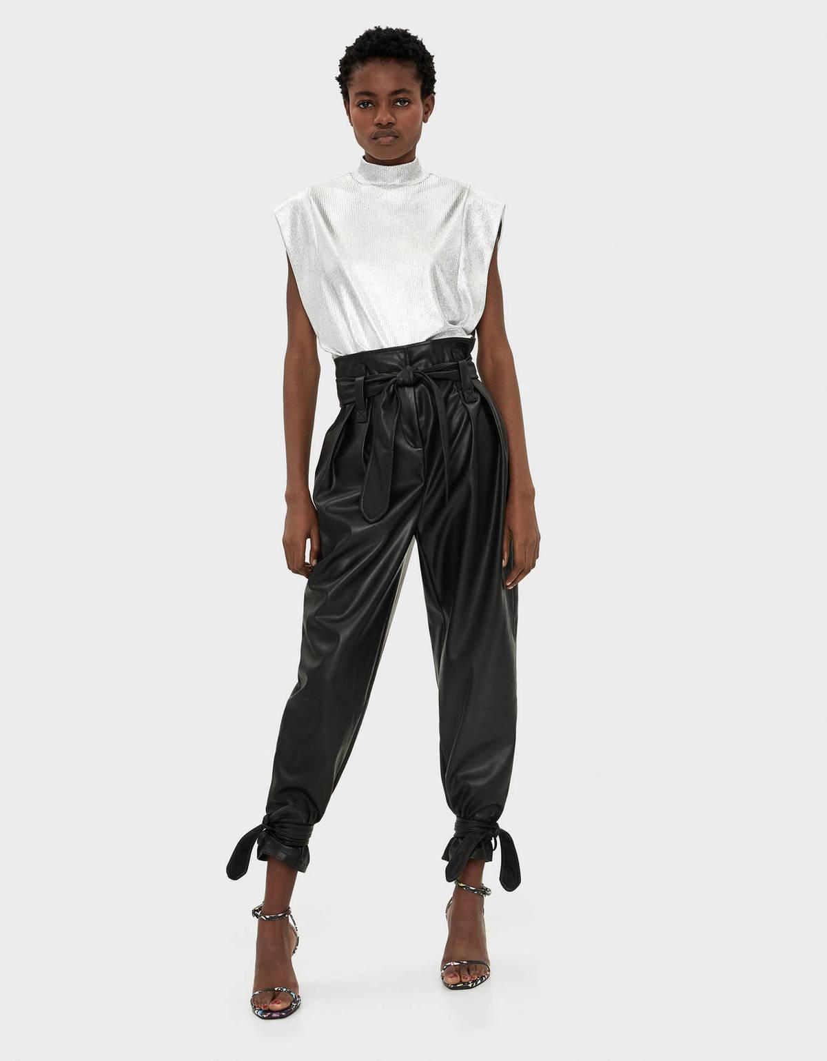 Como Combinar Los Pantalones Slouchy Pantalones De Moda En Otono Invierno 2020 2021 Modaellas Com