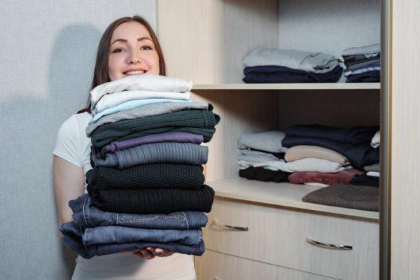 Consejos a la hora de doblar la ropa