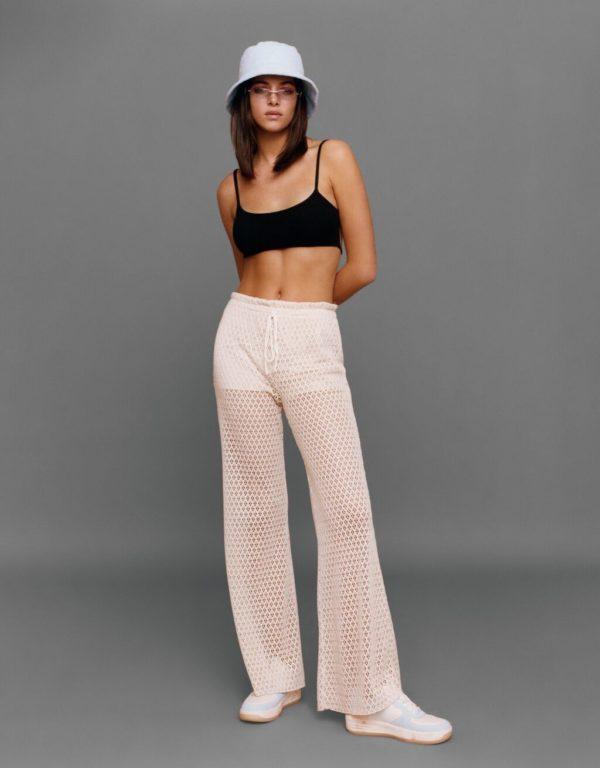 Catalogo bershka primavera verano 2021 pantalones flare