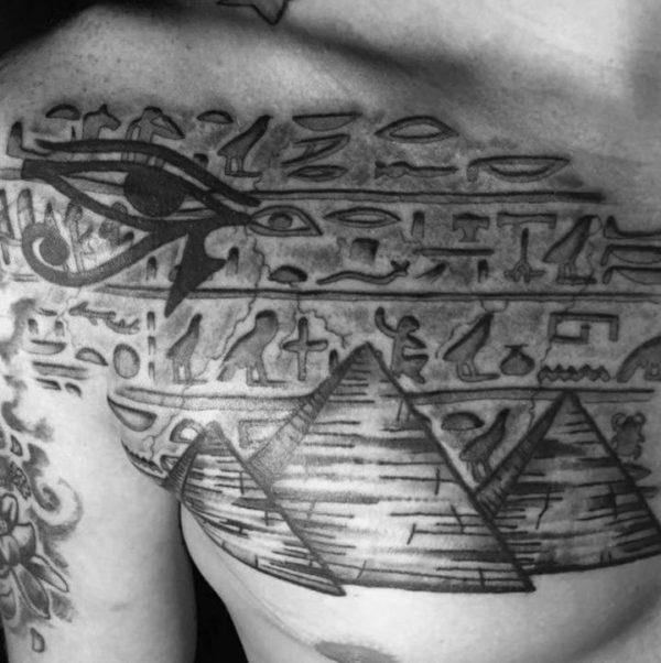 Significado de los Tatuajes de jeroglíficos