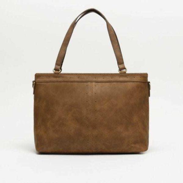 Catalogo de bolsos de misako bolso shopper marron