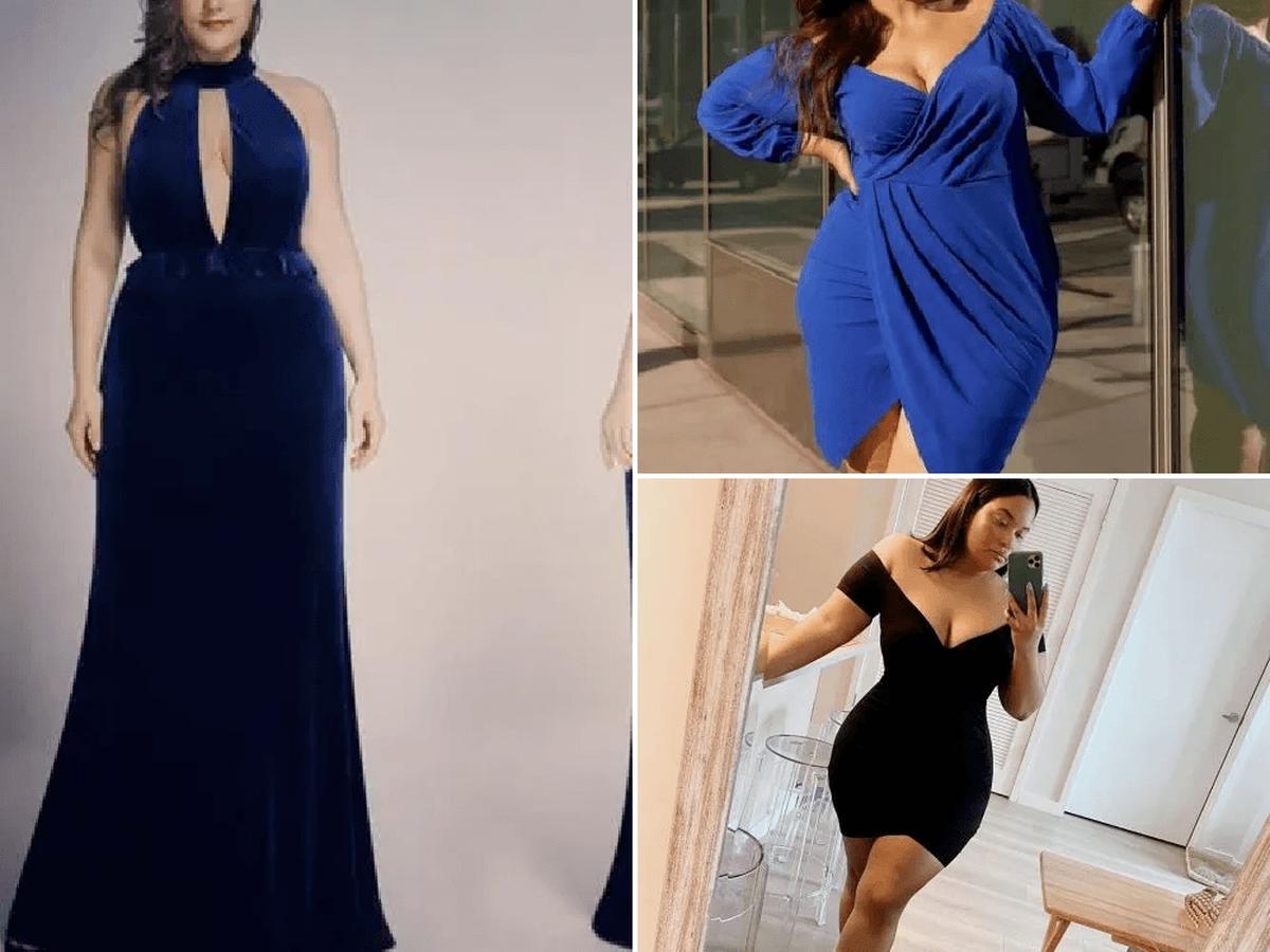 120 Fotos Vestidos De Noche Para Gorditas Otono Invierno 2020 Modaellas Com