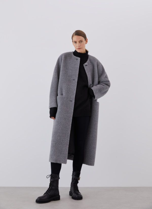 Rebajas ADOLFO DOMINGUEZ invierno 2021 abrigo lana alpaca