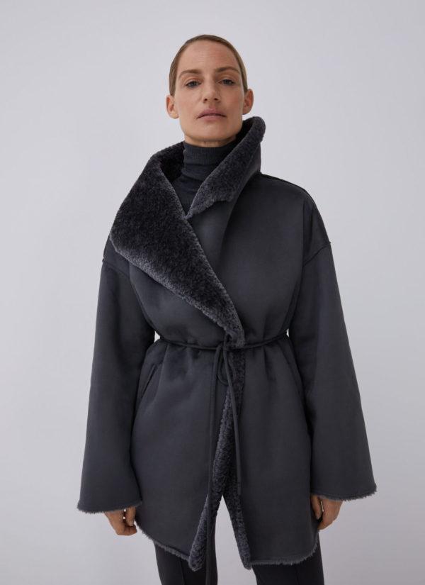 Rebajas ADOLFO DOMINGUEZ invierno 2021 chaqueton piel