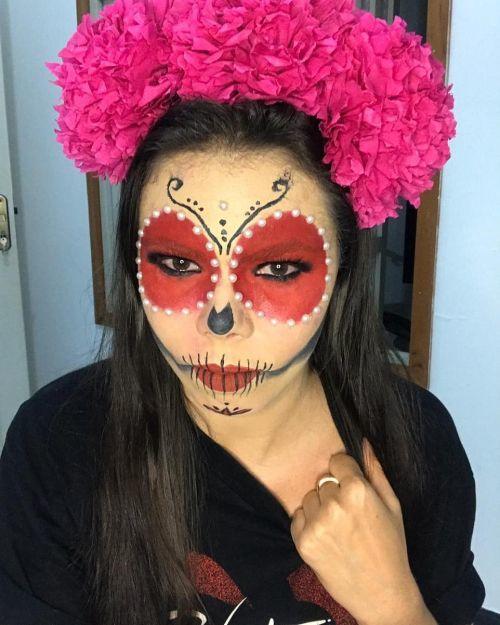 Maquillaje catrina para Halloween
