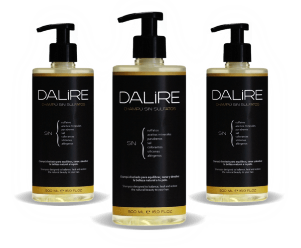 Champú sin sulfatos Dalire