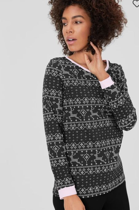Pijamas de Navidad para 2020 en C&A