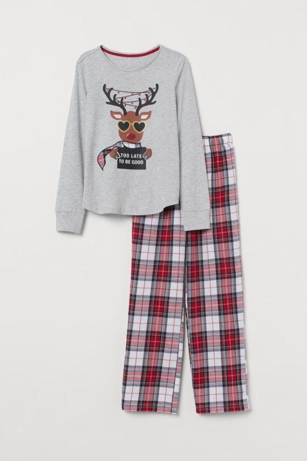 Pijamas de Navidad para 2020 en H&M