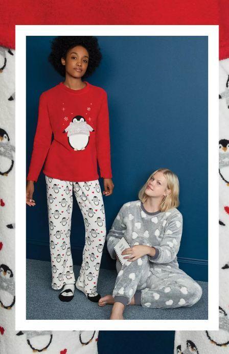 Pijamas de Navidad para 2020 en Primark