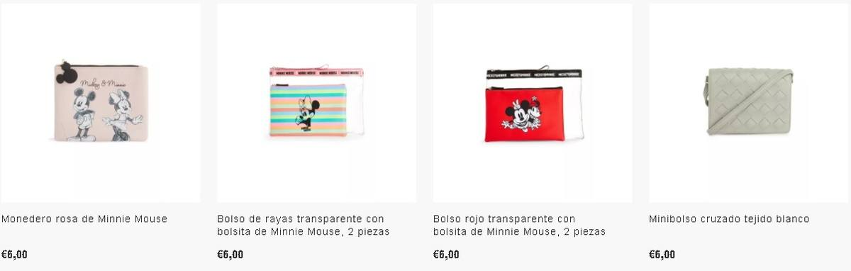 Monederos y bolsas de Mickey Mousse Primark
