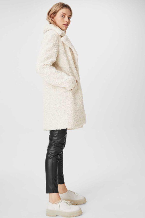 Ca rebajas para mujer abrigo pelo negra
