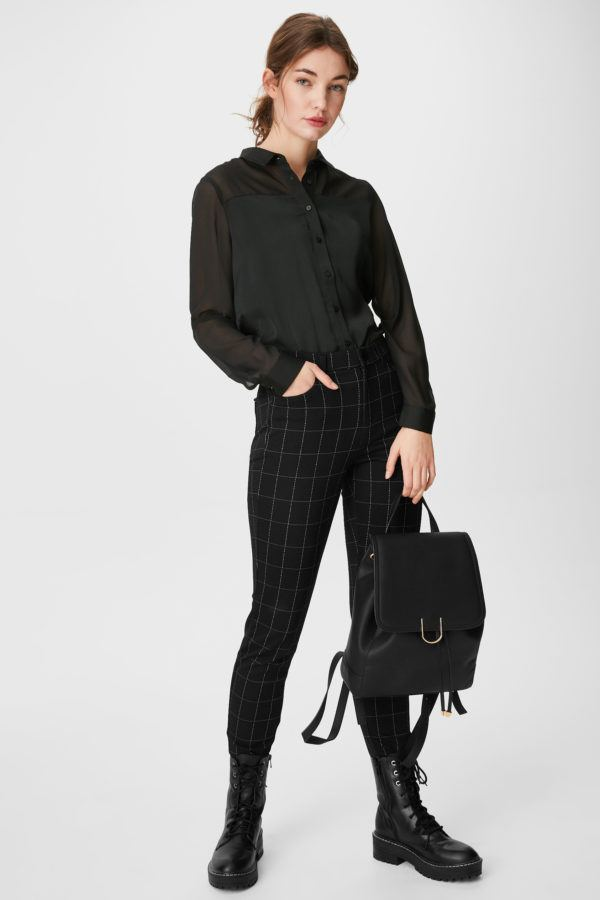 Ca rebajas para mujer camisa negra