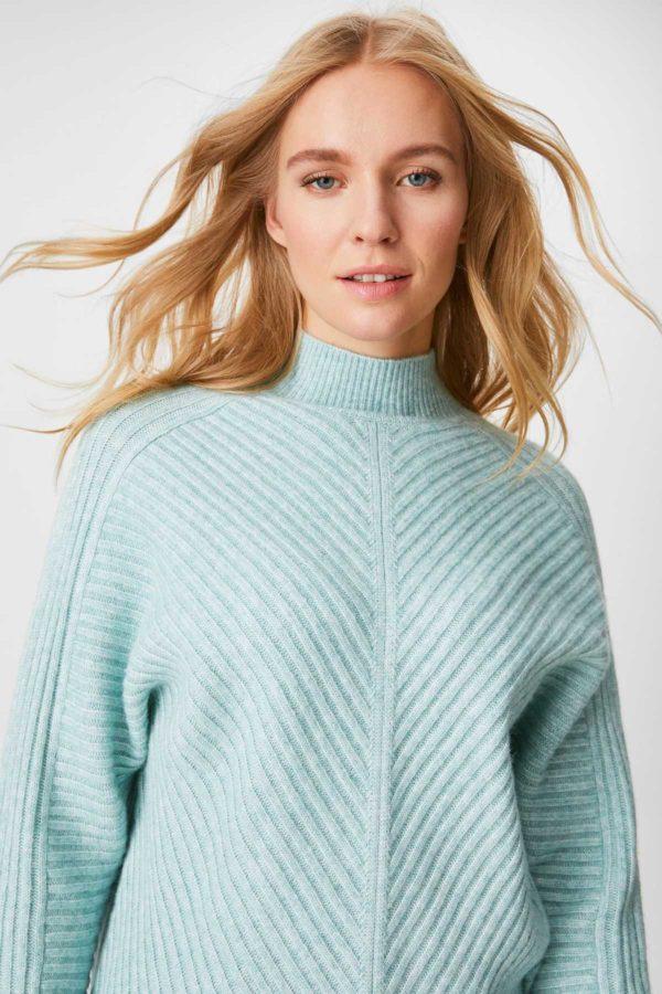 Ca rebajas para mujer jersey azul textura