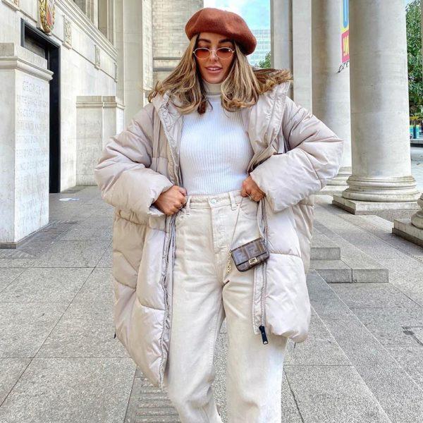 Rebajas primark para mujer invierno 2021 abrigo acolchado