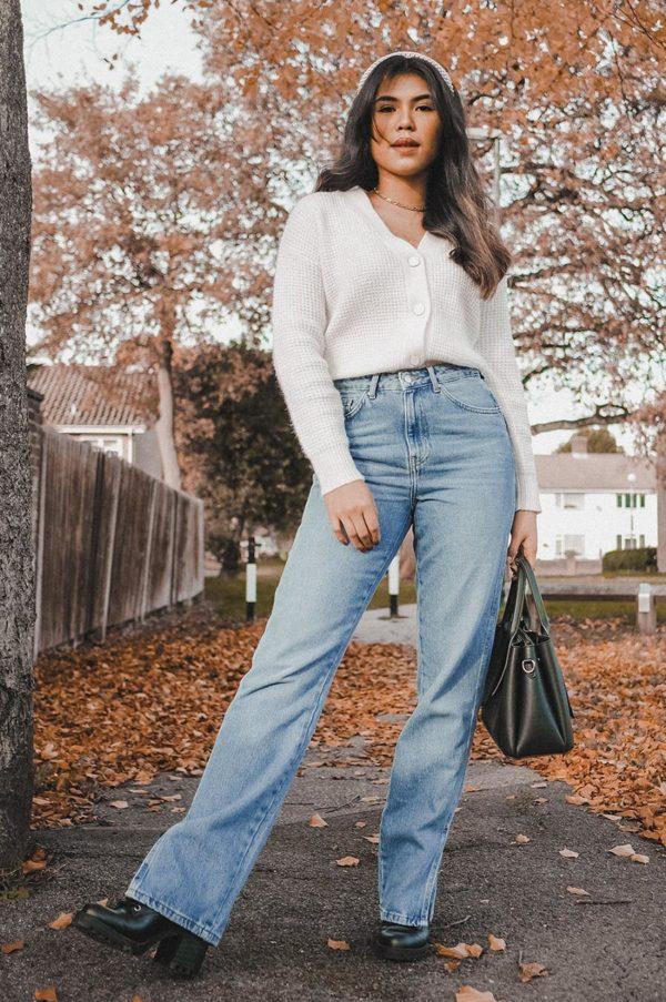 Rebajas primark para mujer invierno 2021 cardigan blanco