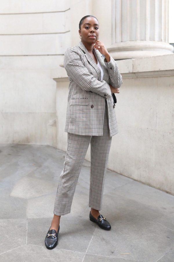 Rebajas primark para mujer invierno 2021 pantalon cuadros