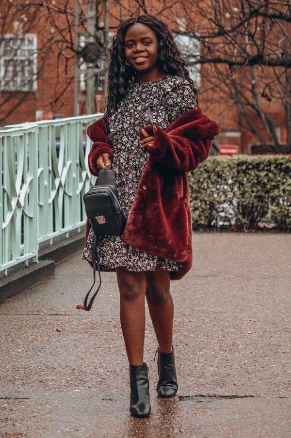 Rebajas primark para mujer invierno 2021 vestido de flores