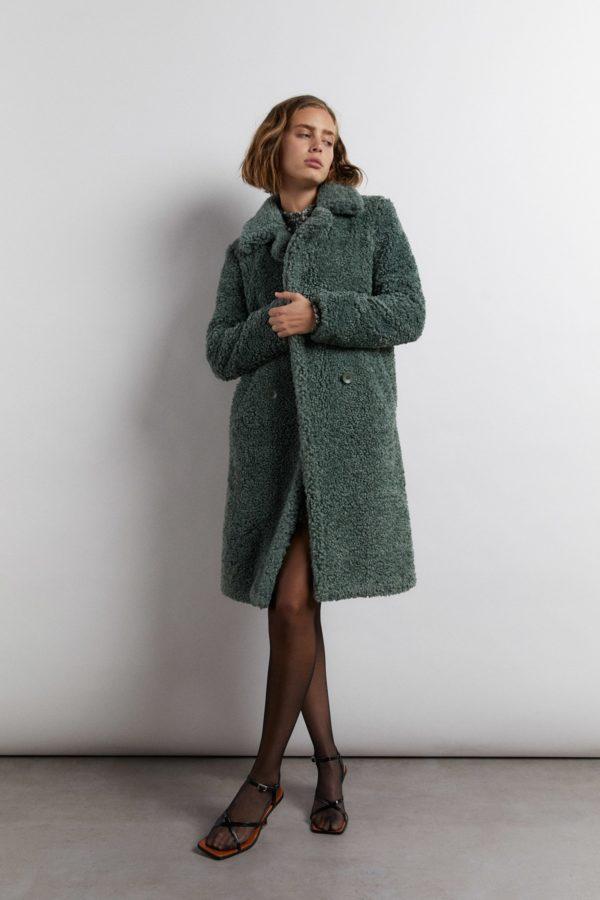 Rebajas sfera para mujer invierno 2021 abrigo peluche rizo
