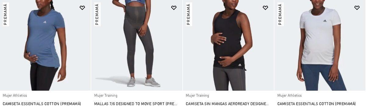 Camisetas y mallas Adidas Premamá 2021