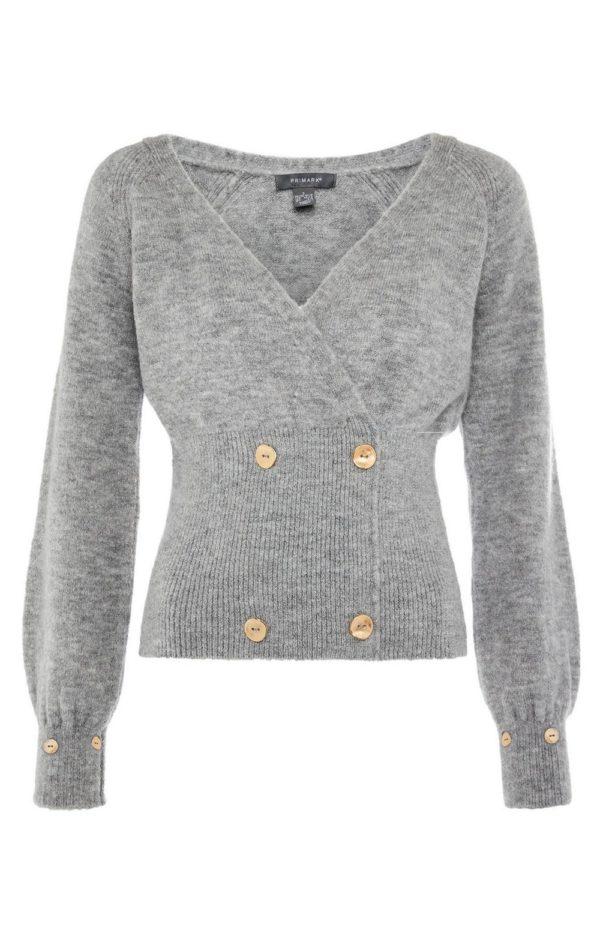 Catalogo primark febrero 2021 jersey gris