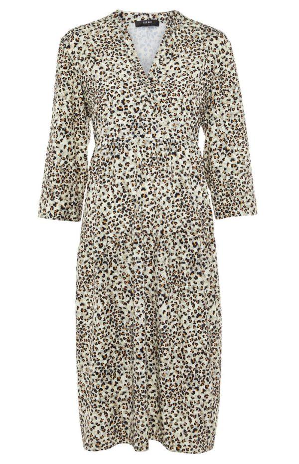 Catalogo primark febrero 2021 vestido midi leopardo