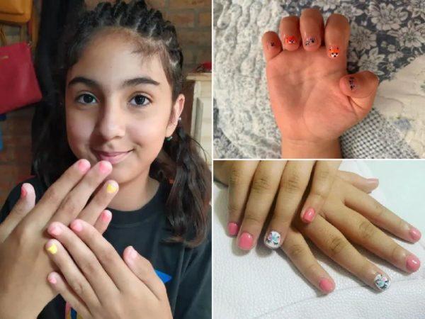 Decorar uñas para niñas