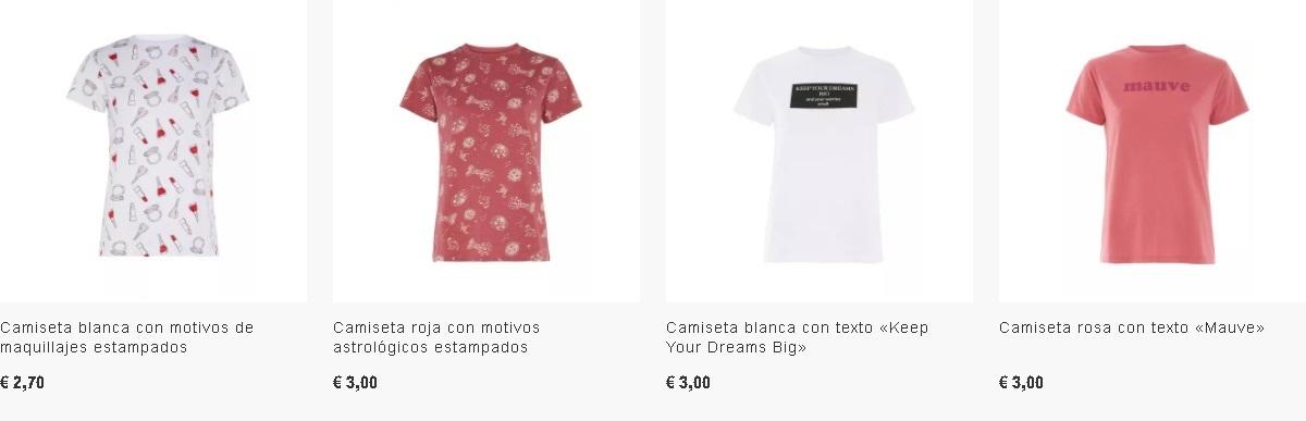Camisetas mujer Primark
