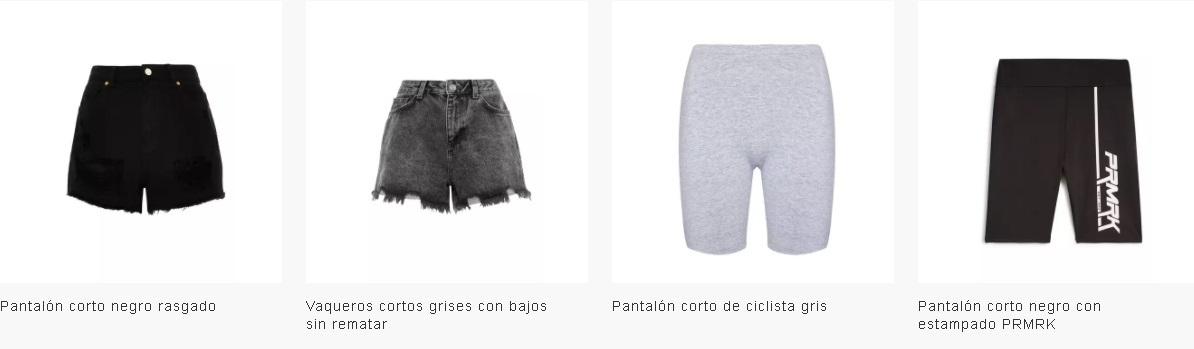 Pantalones cortos mujer Primark