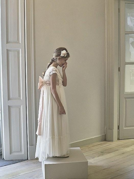 VESTIDOS COMUNION NANOS 2021 vestido modelo princes lado