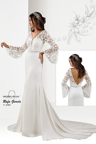 VESTIDOS NOVIA EL CORTE INGLES 2021 vestido rafa garcia 4