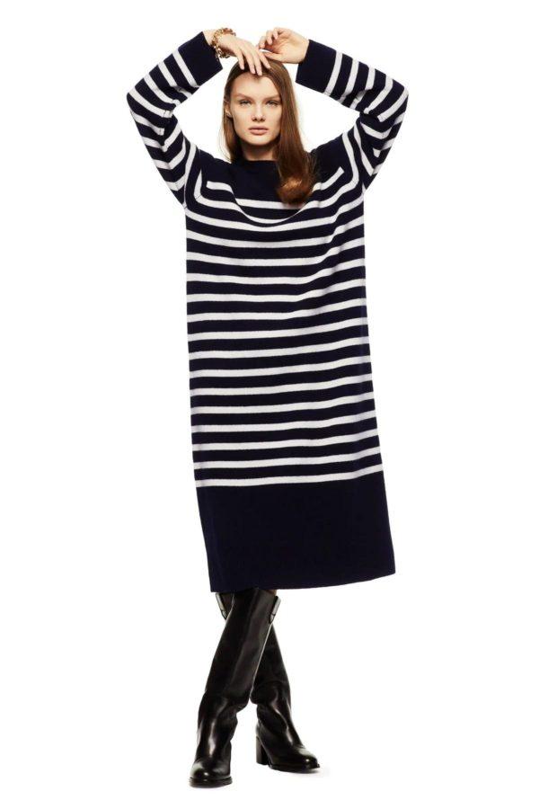 Catalogo zara premama 2021 vestido oversize lana
