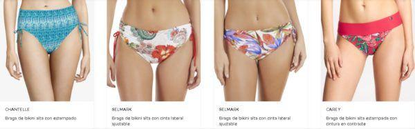 Bikinis braga alta El Corte Inglés