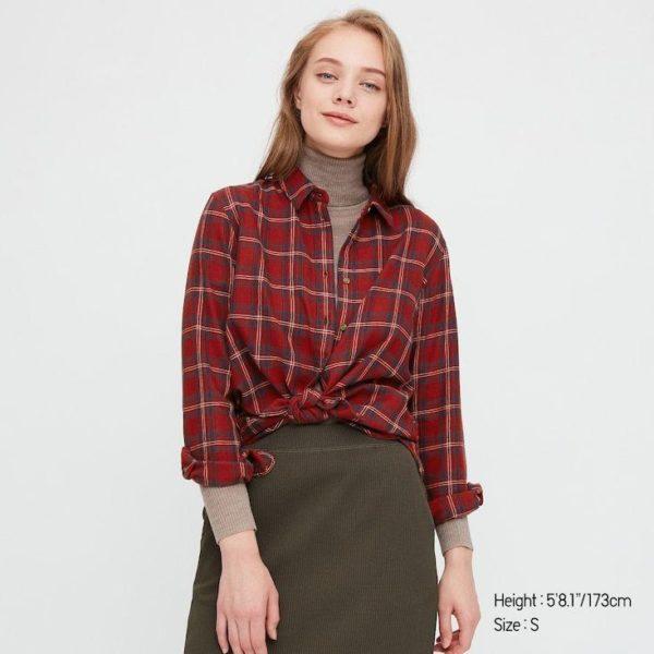 Que es el estilo cabincore camisa franela uniqlo