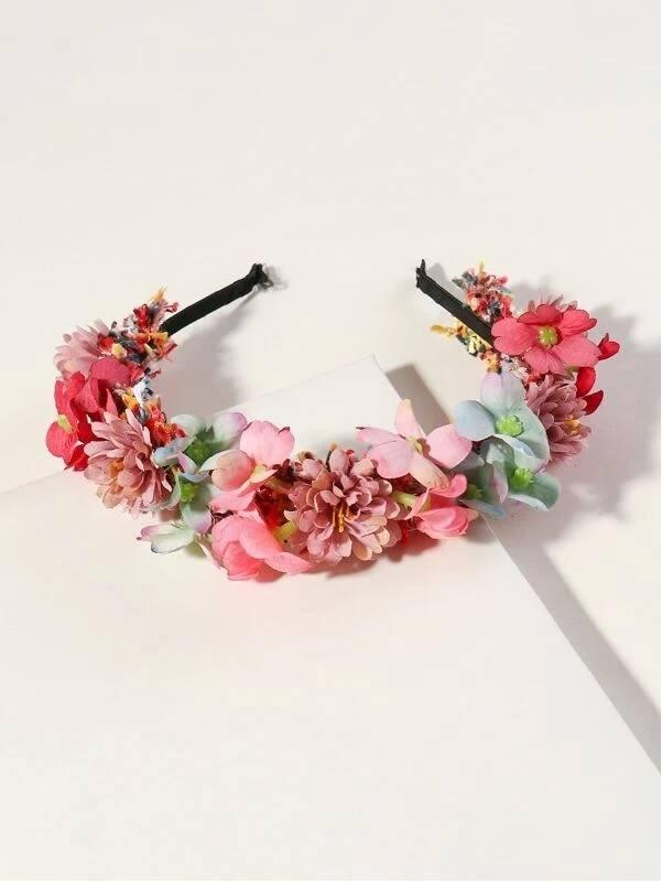Que es el estilo cottagecore diadema flores shein