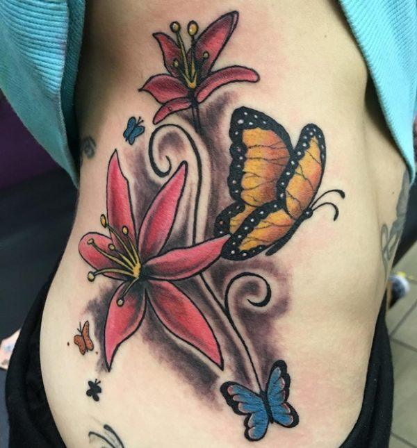 Tatuajes de mujer sexys tatuaje mariposa