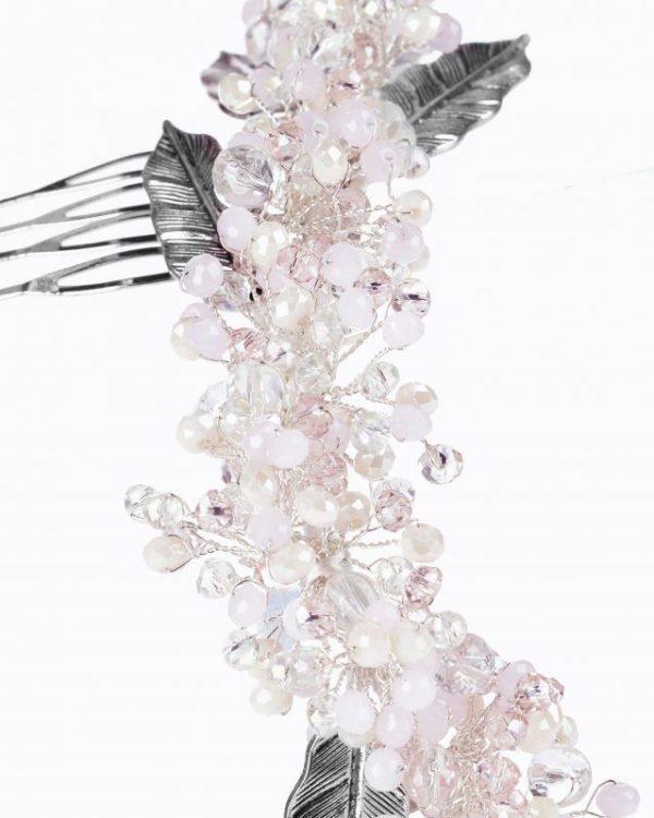 Tocados pelo corto 2021 tocado de novia rosa clara