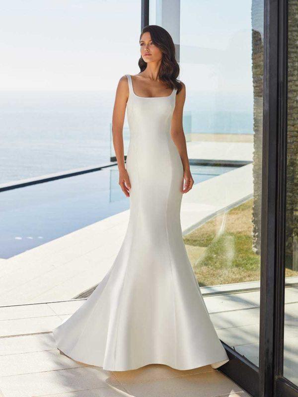 Vestidos de novia sencillos 2021 vestido JUNE de PRONOVIAS