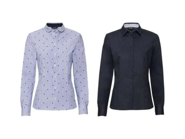 Catalogo lidl otoño invierno camisas entalladas