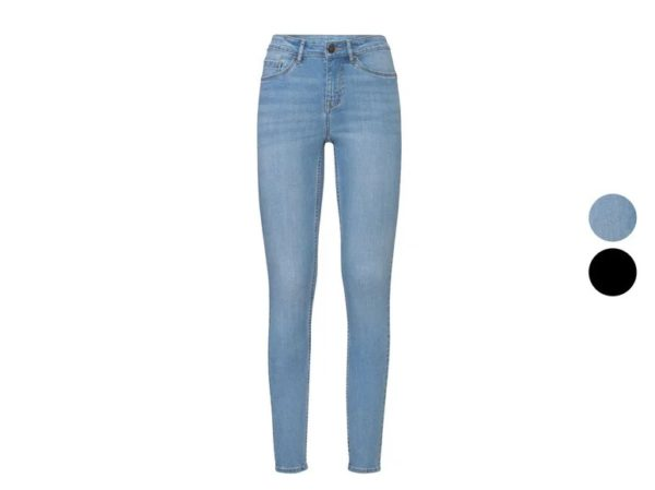 Catalogo lidl otoño invierno pantalones tejano skinny azul