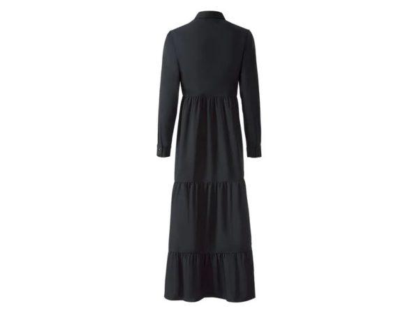 Catalogo lidl otoño invierno vestido negro