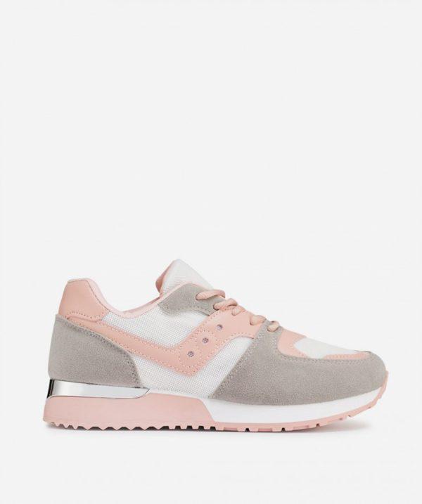 Catalogo marypaz para mujer zapatillas suela track detalle rosa
