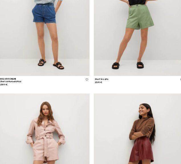 Shorts Mango mujer